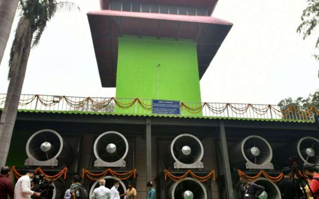 Ấn Độ khánh thành tháp lọc không khí đầu tiên ở Delhi
