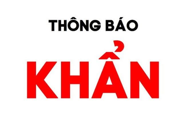 Hà Nội thông báo khẩn tìm người đến chợ Long Biên và ngõ 187 Hồng Hà