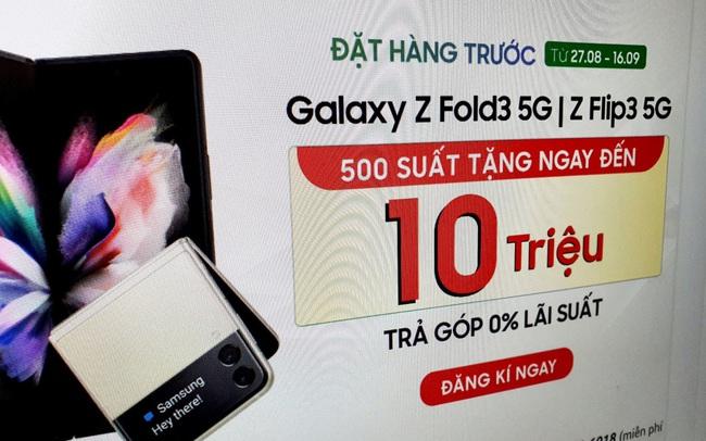 Điện thoại cao cấp nhất của Samsung loạn giá, có nơi giảm 10 triệu đồng trước ngày mở bán tại Việt Nam