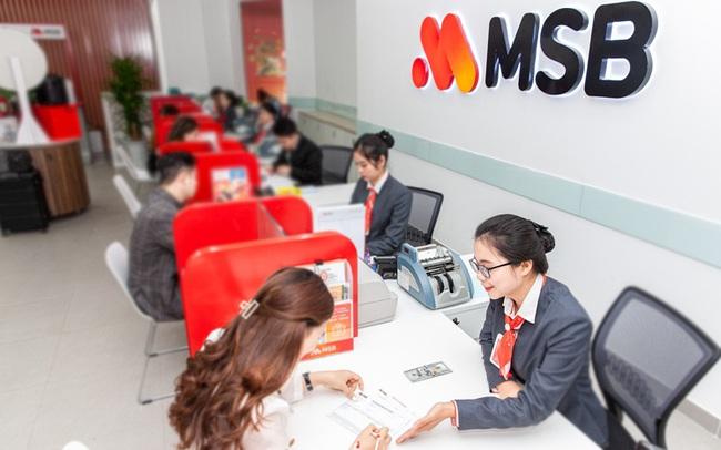 MSB sắp triển khai tăng 30% vốn điều lệ