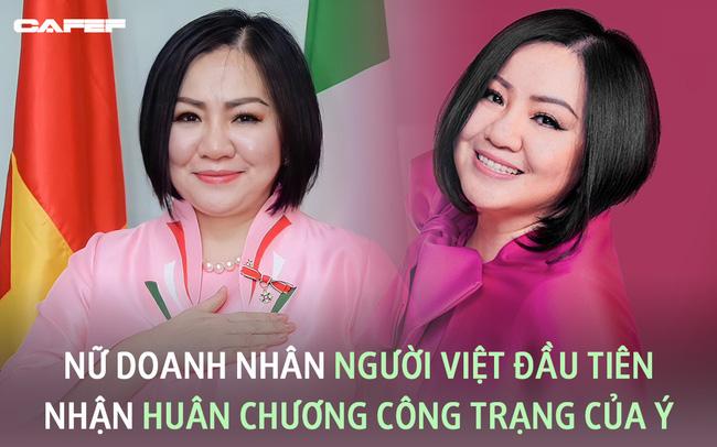 """Nữ doanh nhân người Việt nhận Huân chương Công trạng của Ý: Từ bà mẹ 2 con bị các công ty từ chối vì quá tuổi đến """"bà trùm quyền lực"""" chắp cánh cho thời trang Việt"""