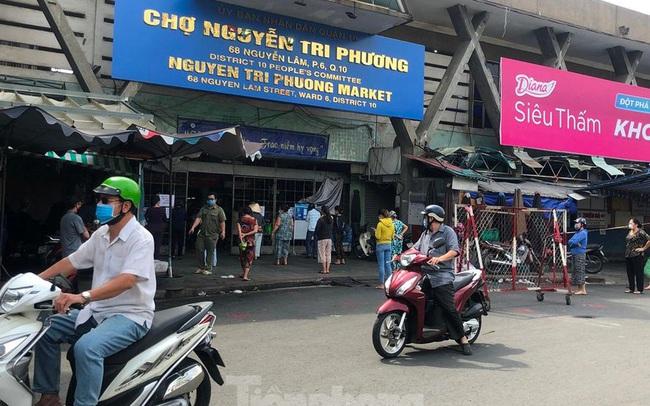 TPHCM mở lại 14 chợ truyền thống