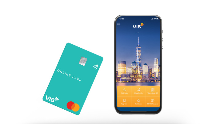 Tiết kiệm chi tiêu hàng chục triệu đồng với thẻ tín dụng VIB Online Plus