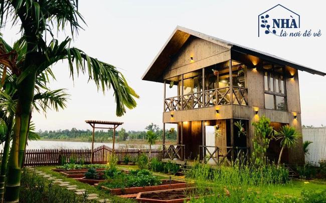 """Ngôi nhà bên hồ xanh mướt của 5 người bạn thân ở Buôn Mê Thuột: """"Quyết biến điều phù phiếm thành giá trị"""", xây dựng một nơi chốn đi về, cùng thưởng thức cuộc sống"""