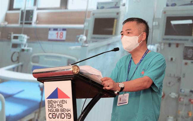 """Giám đốc Bệnh viện dã chiến điều trị Covid-19 ở Hà Nội: """"Trong thâm tâm, tôi thực sự không muốn đón bệnh nhân, không muốn các giường bệnh bị lấp đầy"""""""
