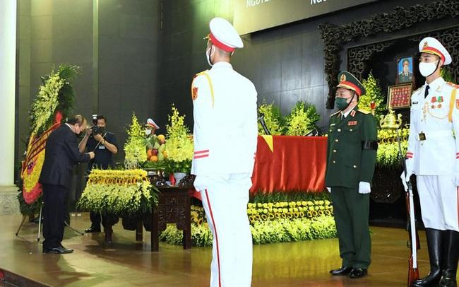 Tổ chức trọng thể Lễ truy điệu Đại tướng Phùng Quang Thanh