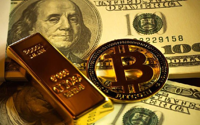 """USD và nhân dân tệ giảm giá, bitcoin và vàng """"nóng"""" trở lại"""