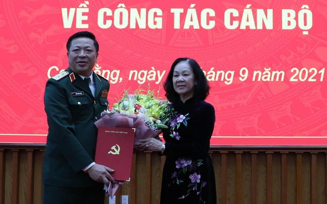 Trung tướng Trần Hồng Minh được điều động làm Bí thư Tỉnh ủy Cao Bằng