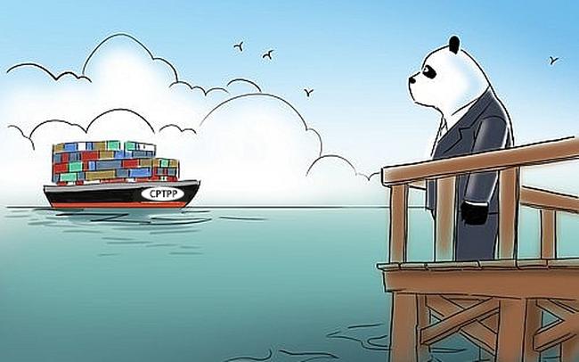 """CPTPP là FTA thế hệ 2.0, gây bất lợi cho chính sách thương mại của Trung Quốc nhưng sự vắng mặt của Mỹ tạo cơ hội cho Bắc Kinh """"lật kèo"""""""