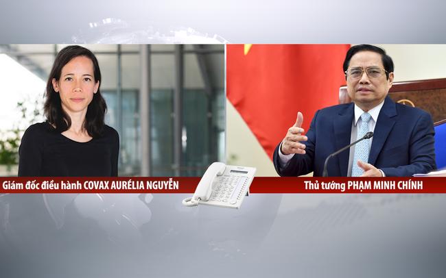 Thủ tướng đề nghị COVAX phân bổ nhanh vaccine Moderna cho Việt Nam