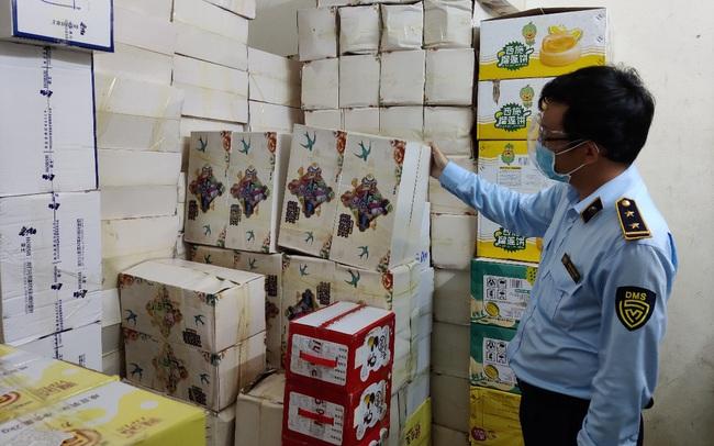 Thu giữ hơn 43.460 sản phẩm bánh, kẹo không có hóa đơn chứng từ