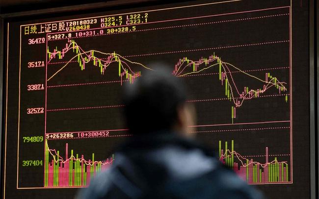 """Khi cả thế giới chịu đòn vì """"quả bom nợ"""" Evergrande, chứng khoán Trung Quốc mở cửa trở lại sau 2 ngày nghỉ lễ với mức giảm nhẹ nhàng"""