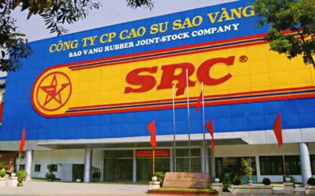 Cao su Sao Vàng (SRC) chốt danh sách cổ đông trả cổ tức bằng tiền