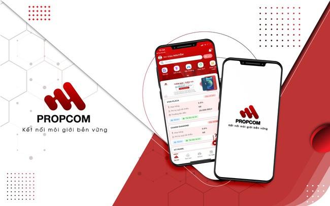 """Propcom: Ứng dụng giúp môi giới  """"sống tốt"""" trong thị trường bất động sản"""