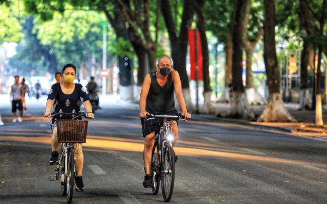 Từ mai 28/9, Hà Nội cho phép tập thể dục, thể thao ngoài trời không tập trung quá 10 người