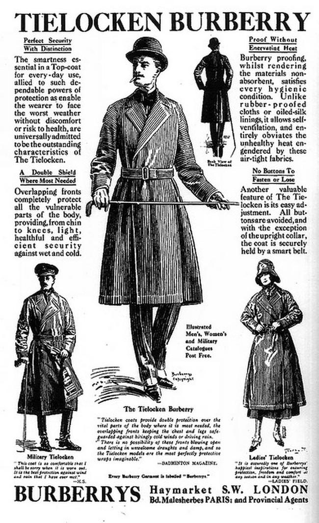 Burberry và câu chuyện từ những chiếc áo mưa