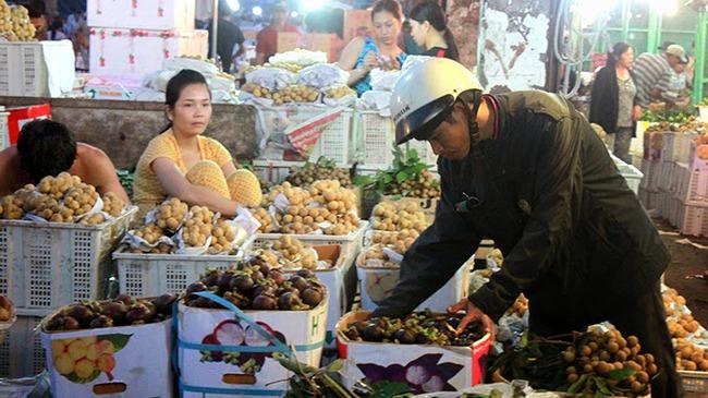 Rau quả Thái Lan đánh bật Trung Quốc