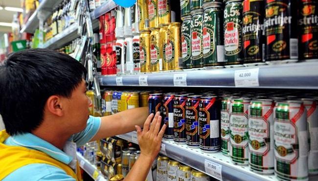 Bia ngoại tấn công thị trường