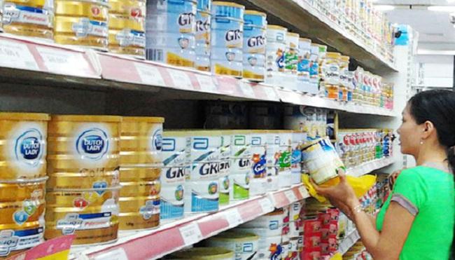 Yêu cầu công khai đăng ký giá của doanh nghiệp sữa