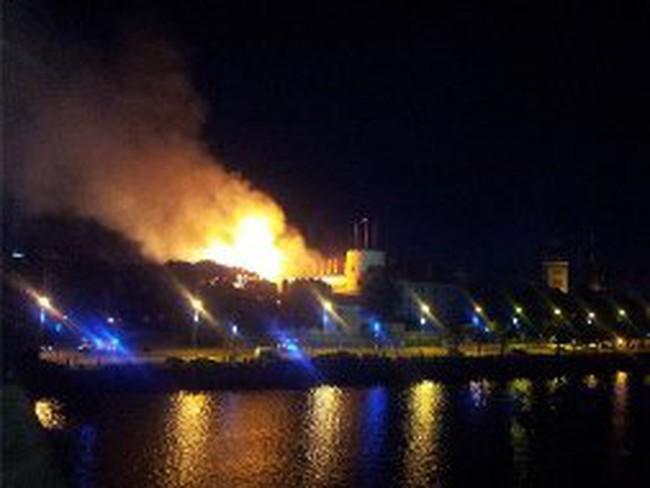 Cháy kinh hoàng văn phòng Tổng thống Latvia