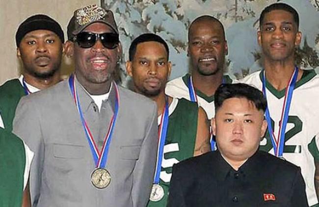 Dennis Rodman 'không nhận tiền của Triều Tiên'