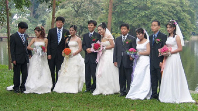 Cô dâu ngoại và chuyện dân số già ở Hàn Quốc