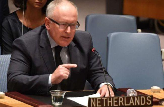 Lặng người trước bài phát biểu của Ngoại trưởng Hà Lan tại Liên hợp quốc