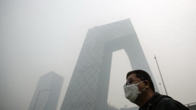 Bắc Kinh chìm trong khói bụi