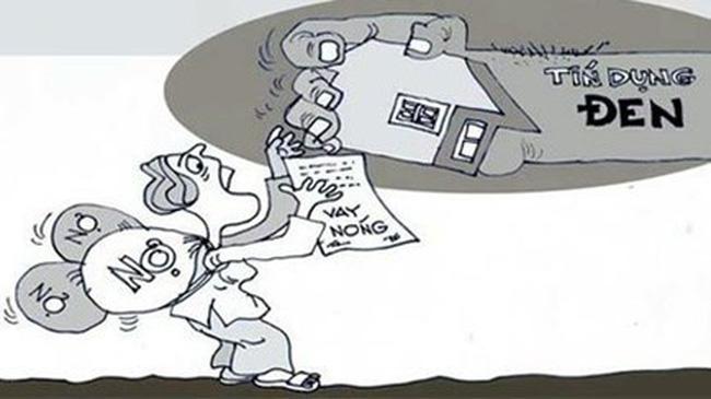 """Cẩn trọng kẻo mất nhà, mất đất vì… """"tín dụng đen"""""""