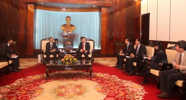 Nhật Bản sẽ hợp tác chặt chẽ với Việt Nam về phát triển nông nghiệp, đào tạo nhân lực