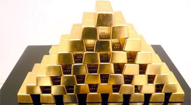 Căng thẳng ở Ukraine đẩy giá vàng lên trên 1.350 USD/ounce