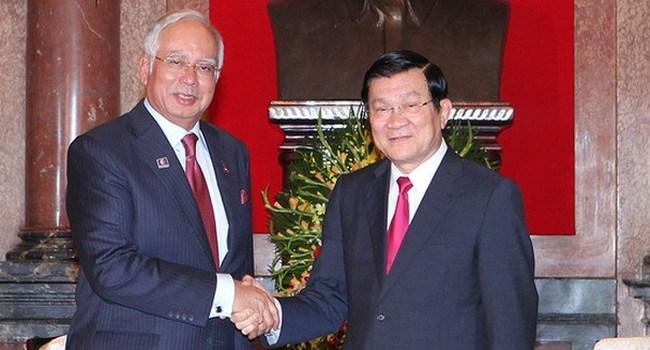 Thủ tướng Malaysia kêu gọi mở rộng kinh doanh tại Việt Nam