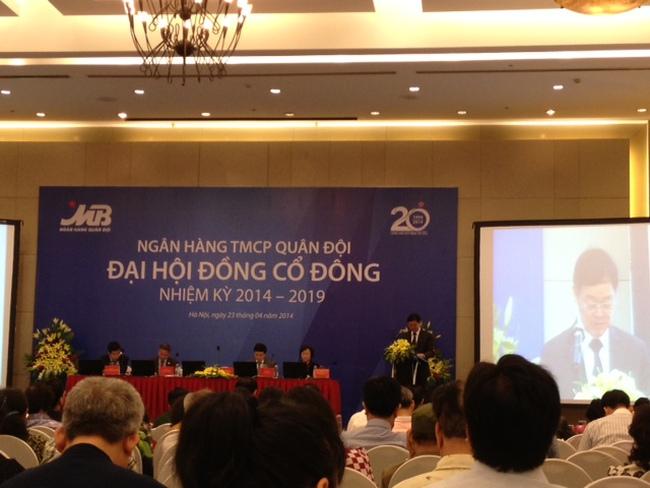 [Trực tiếp] ĐHCĐ Ngân hàng Quân đội: Ông Lê Văn Bé rút khỏi HĐQT
