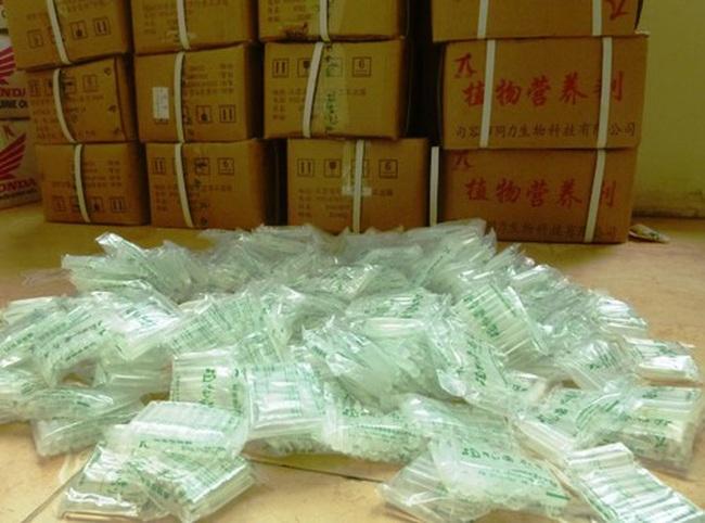 Hà Nội phát hiện 230 nghìn ống thuốc kích thích thực vật