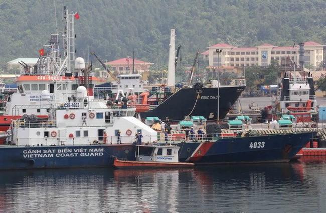 Máy bay Trung Quốc tiếp tục uy hiếp tàu cảnh sát biển Việt Nam