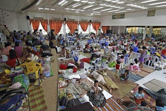 Bão Hagupit san phẳng nhiều nhà cửa ở Philippines