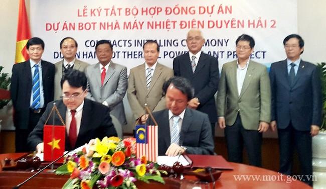 Chính thức ký hợp đồng BOT Nhà máy nhiệt điện Duyên Hải 2