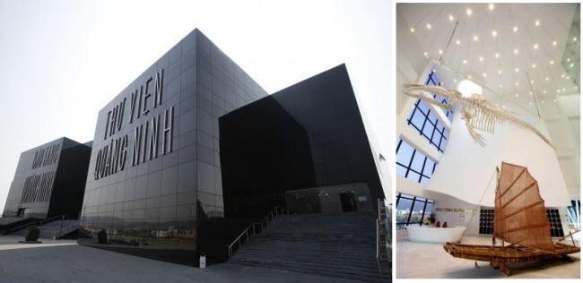 Chiêm ngưỡng thiết kế hiện đại và độc đáo tại Bảo tàng - Thư viện Quảng Ninh