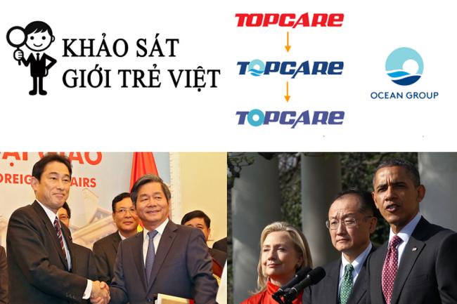 [Nổi bật] Quan điểm về nghề nghiệp của thế hệ Y, Topcare 'mượn' logo Ocean Group