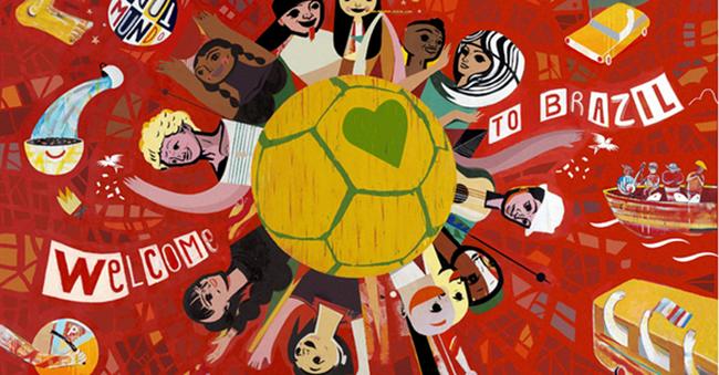 Câu chuyện đằng sau 'lá cờ hạnh phúc' của Coca Cola tại World Cup 2014