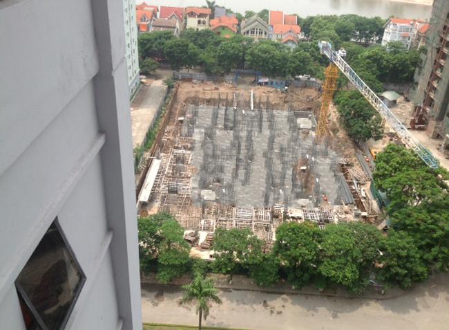 Soi tiến độ dự án VP5 Linh Đàm có giá chênh lên đến 280 triệu/căn