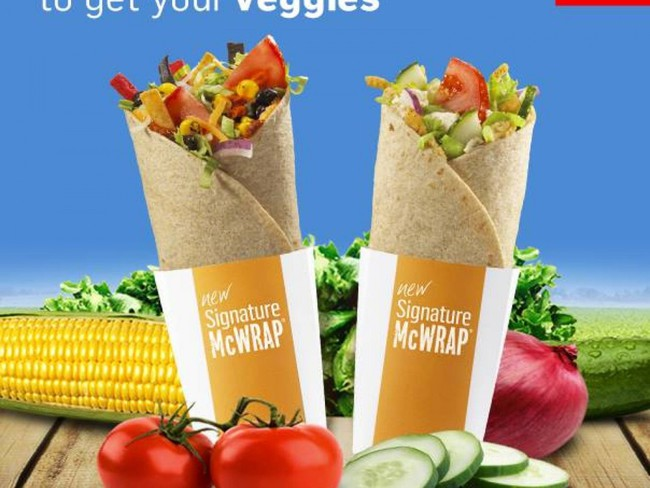 McDonald's và chuyện...ăn chay