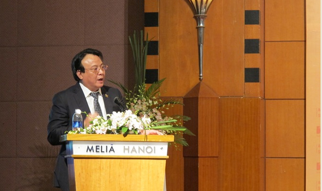 Tổng giám đốc Tân Hoàng Minh kiến nghị SHB tăng tín dụng cho Bất động sản