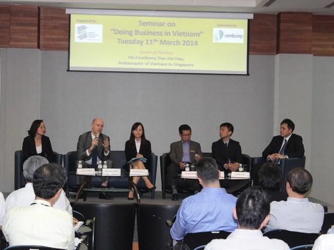 Doanh nghiệp Singapore đánh giá cao thị trường Việt Nam