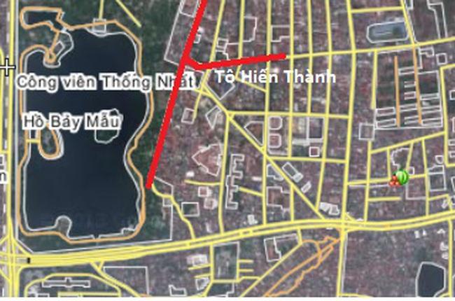 Hà Nội: Kết luận về dự án đường Nguyễn Đình Chiểu kéo dài