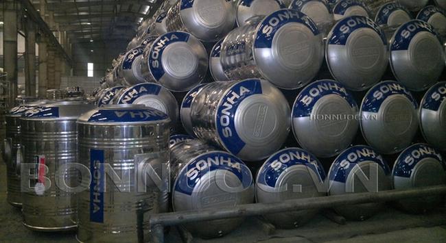 Sơn Hà: Bồn Inox chỉ đóng góp chưa đến 1/4 doanh thu