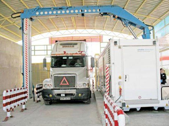 Máy soi container 35 tỉ đồng 'đắp chiếu' ở cửa khẩu Lao Bảo, Quảng Trị