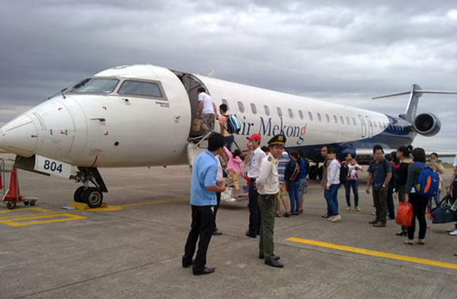 Air Mekong trước ngày tạm ngừng bay