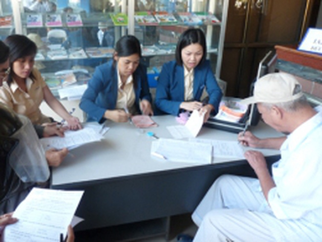 Từ 1/7, thêm 12 địa phương được trả lương hưu qua bưu điện