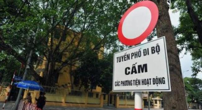 Bộ Ngoại giao không ủng hộ phố đi bộ quanh lăng Bác